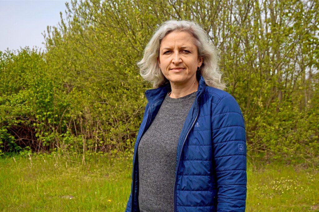 Mirjam Gördes erhält den Bürgerpreis in der Kategorie Umwelt.