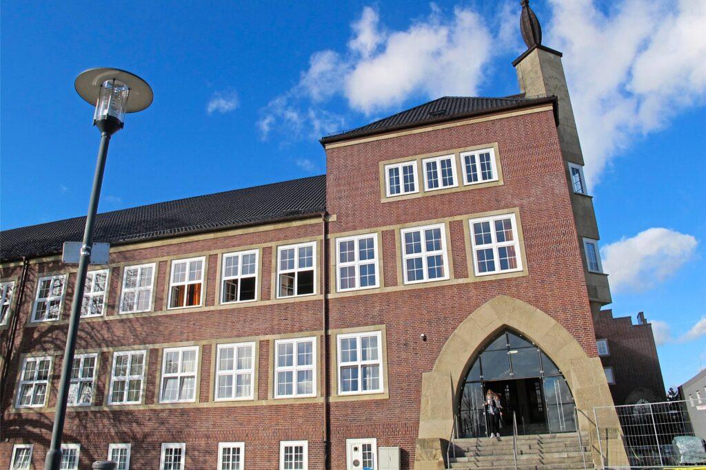 Auch das Städtische Gymnasium kann sich über steigende Anmeldezahlen freuen.