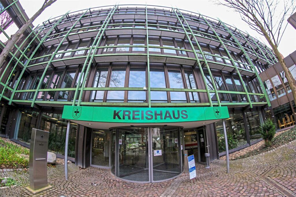 Im Kreis-Gesundheitsamt im Kreishaus in Recklinghausen finden die Schuleingangsuntersuchungen statt.