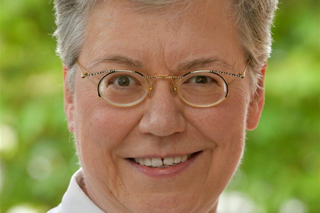 Die Ärztliche Direktorin des Gertrudis-Hospital, Dr. Elisabeth Winkelmann