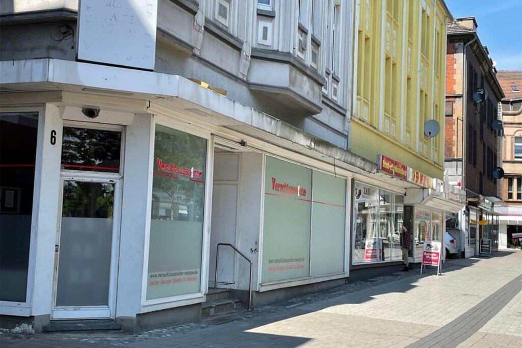 Im Haus Ewaldstraße 6 (Vordergrund) hat das Unternehmen