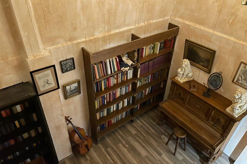 Die Bibliothek der 1000 Bücher.