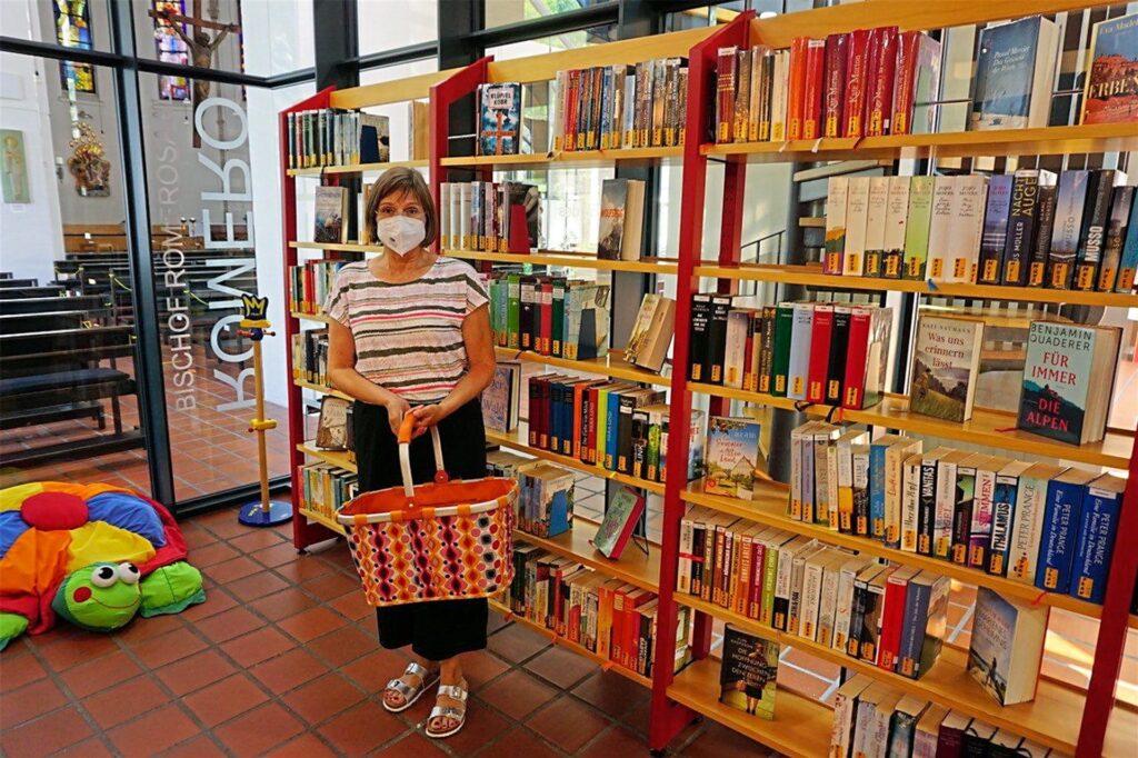 Für Elke Bruch war es wichtig, dass die Bibliothek überhaupt erhalten geblieben ist. Sie sieht keine Nachteile im neuen Standort.