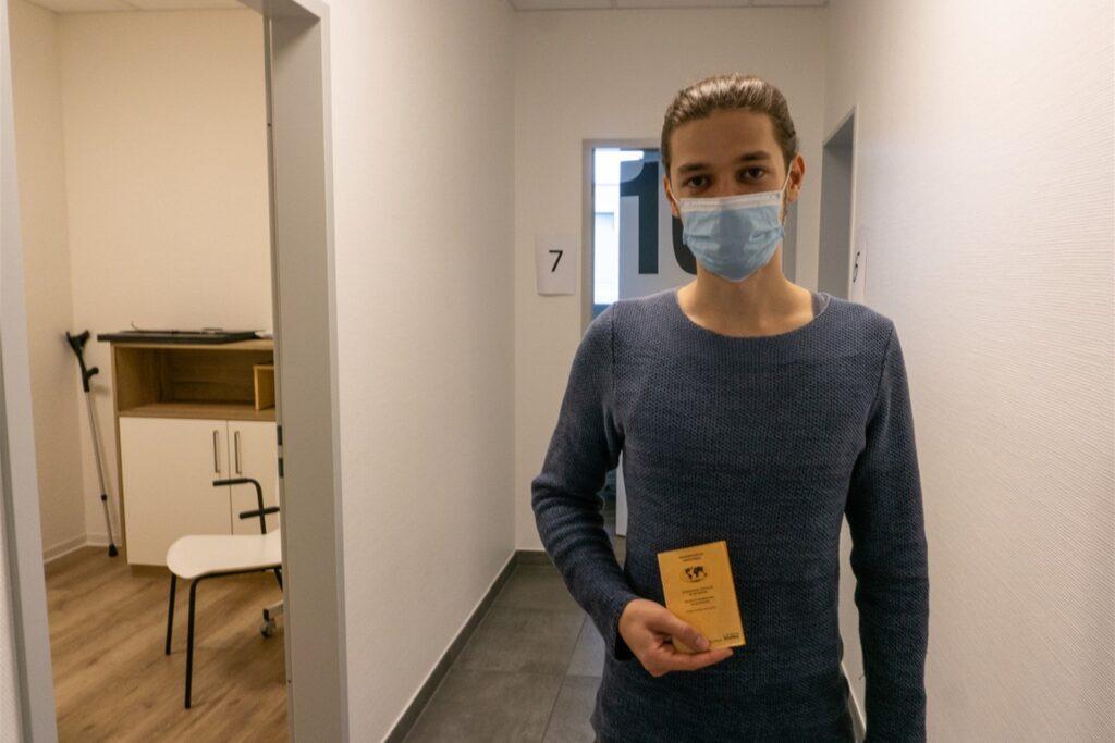 Noch haben Ungeimpfte die gleichen Freiheiten, diese möchte sich Kevin Urschenk erhalten und hat sich deswegen für die Impfung entschieden.